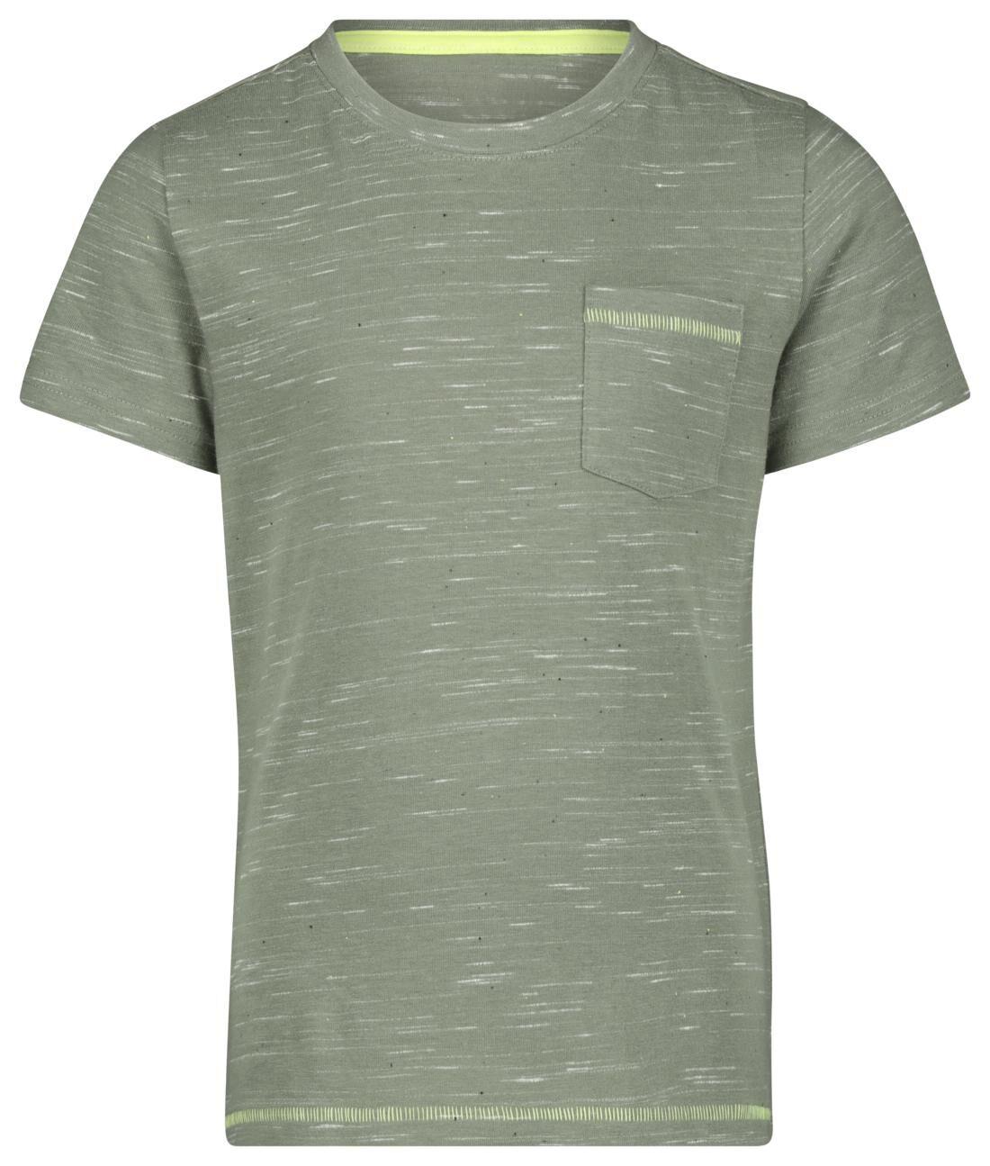 HEMA Kinder T-shirt Lichtgroen (lichtgroen)