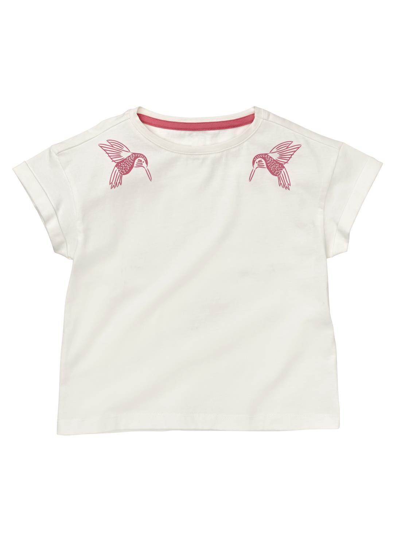 HEMA Kinder T-shirt Gebroken Wit (gebroken wit)
