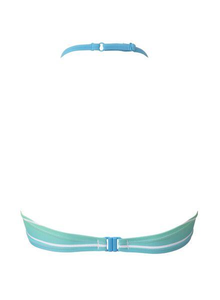 damesbikinitop B-D blauw blauw - 1000006630 - HEMA