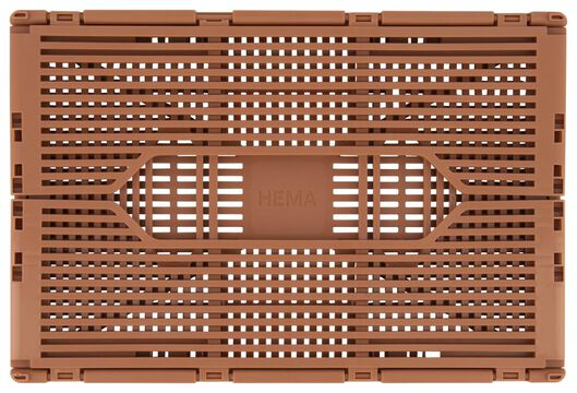 klapkrat letterbord recycled 20x30x11.5 terra terra 20 x 30 x 11,5 - 39821073 - HEMA