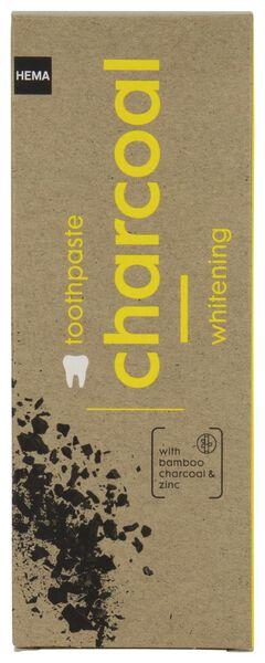 tandpasta charcoal whitening 75 ml - 11130020 - HEMA