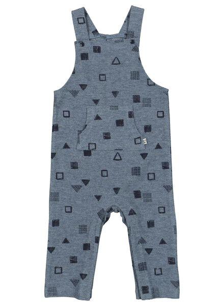 baby jumpsuit blauw blauw - 1000015324 - HEMA