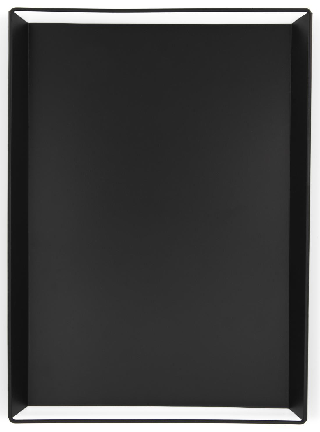 HEMA Kaarsplateau - 22 X 45.5 X 3 Cm - Zwart (zwart)