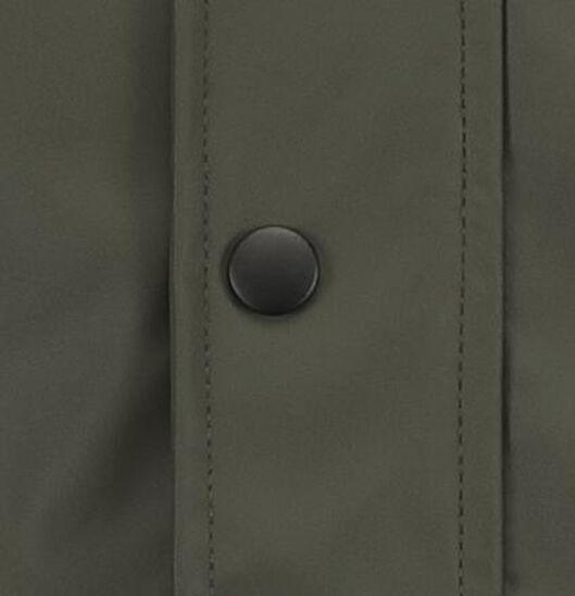 kinderjas met capuchon groen groen - 1000017683 - HEMA