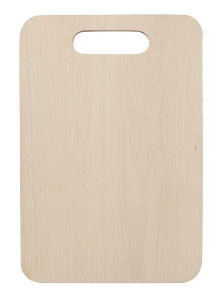 snijplank 35x24 hout - 80810063 - HEMA