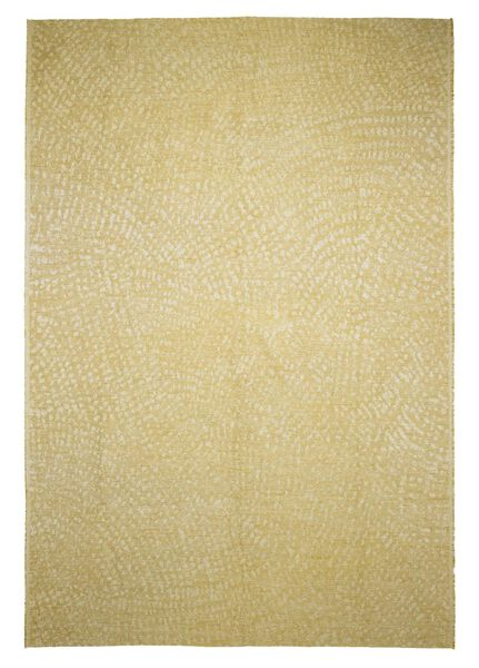 vloerkleed - 170 x 240 cm - okergeel - 13030008 - HEMA