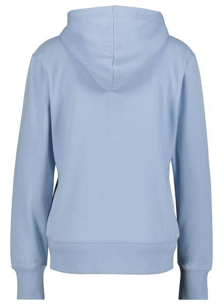 dames sweatvest blauw - 1000014819 - HEMA