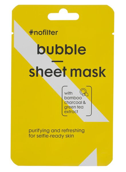 sheetmasker bubble #nofilter - 17870017 - HEMA