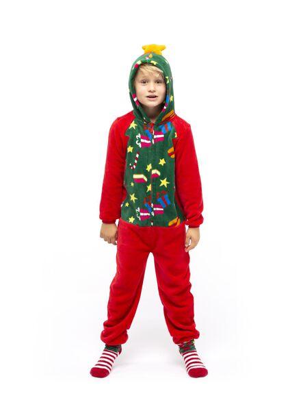 kinder onesie rood rood - 1000016965 - HEMA