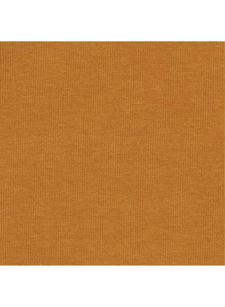 romper biologisch katoen stretch bruin 50/56 - 33396811 - HEMA