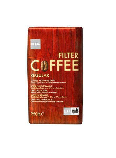 filterkoffie regular - 17100010 - HEMA