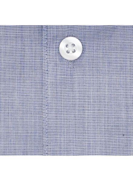 heren overhemd donkerblauw donkerblauw - 1000000701 - HEMA