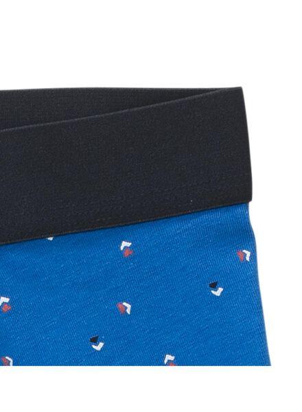 herenboxer blauw blauw - 1000011816 - HEMA