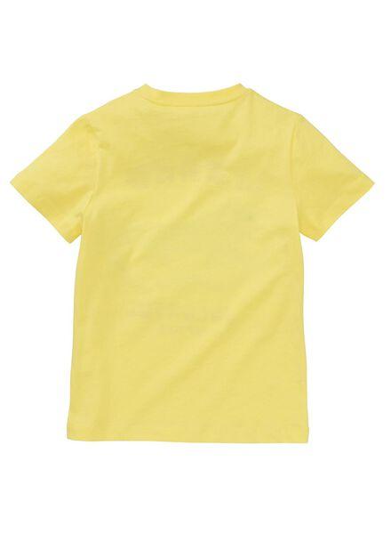 kinder t-shirt geel geel - 1000013116 - HEMA