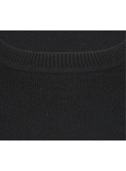 herentrui zwart XXL - 34250631 - HEMA