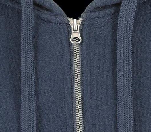 heren capuchonvest donkerblauw donkerblauw - 1000014296 - HEMA