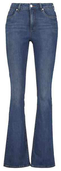 dames jeans bootcut shaping fit middenblauw 42 - 36337494 - HEMA