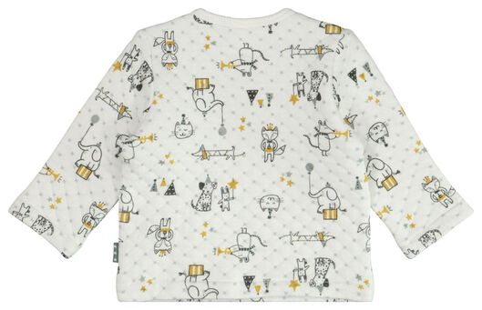 newborn sweater circus wit wit - 1000021813 - HEMA