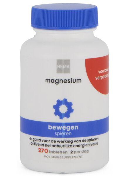 magnesium - 270 stuks - 11405213 - HEMA