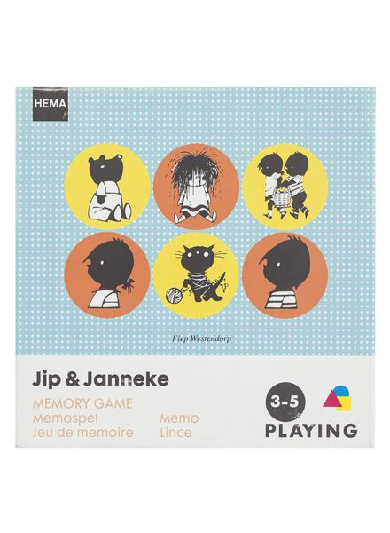 Jip en Janneke memospel - 15140021 - HEMA