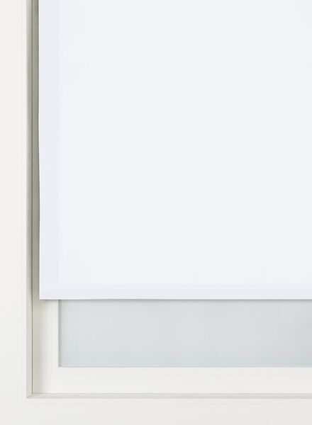 rolgordijn uni lichtdoorlatend wit uni lichtdoorlatend - 7410333 - HEMA