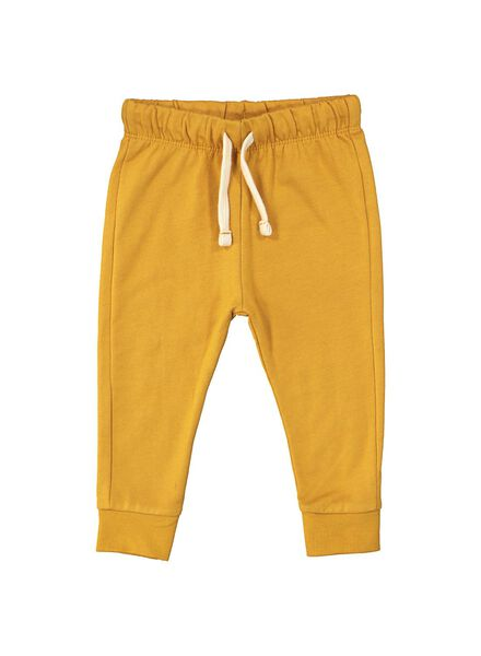 baby sweatbroek geel geel - 1000014710 - HEMA