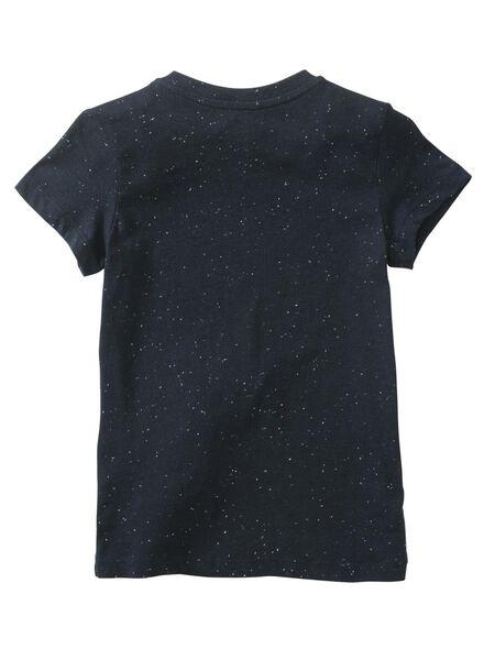 kinder t-shirt donkerblauw donkerblauw - 1000011332 - HEMA