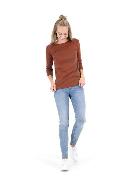 dames top bruin bruin - 1000014800 - HEMA