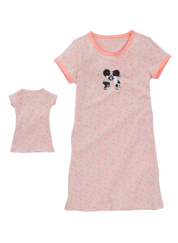 HEMA Kindernachthemd Lichtroze (lichtroze)