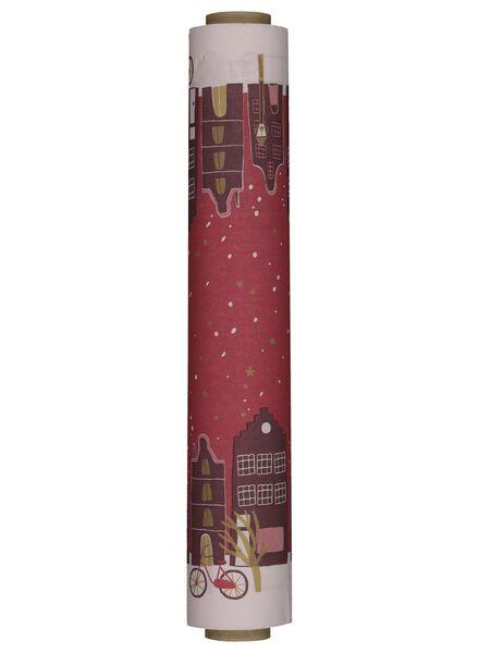 papieren tafelloper kerst - 25600007 - HEMA