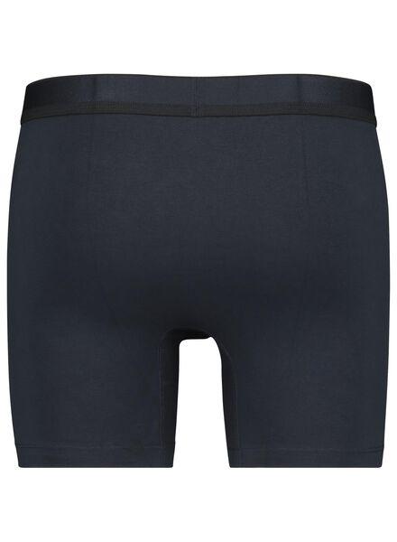 2-pak herenboxers RLC lang donkerblauw donkerblauw - 1000014682 - HEMA
