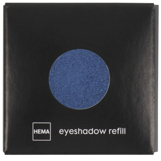 oogschaduw mono shimmer 21 nightsky blue donkerblauw navulling - 11210321 - HEMA