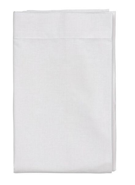 laken - zacht katoen - 200 x 255 cm - wit - 5140074 - HEMA