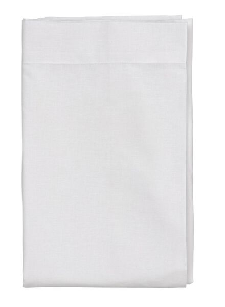 laken - zacht katoen - 240 x 260 cm - wit wit 240 x 260 - 5140075 - HEMA
