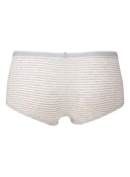 tiener boxer grijsmelange grijsmelange - 1000009137 - HEMA