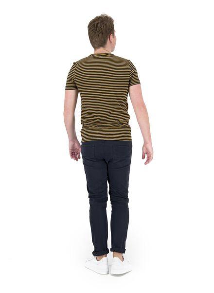 heren t-shirt geel geel - 1000014693 - HEMA
