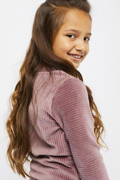 kindersweater corduroy paars paars - 1000021562 - HEMA