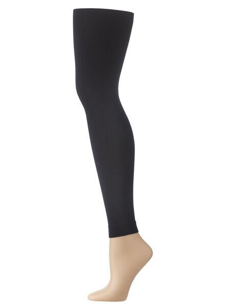 legging 100 denier zwart 44/46 - 4062073 - HEMA