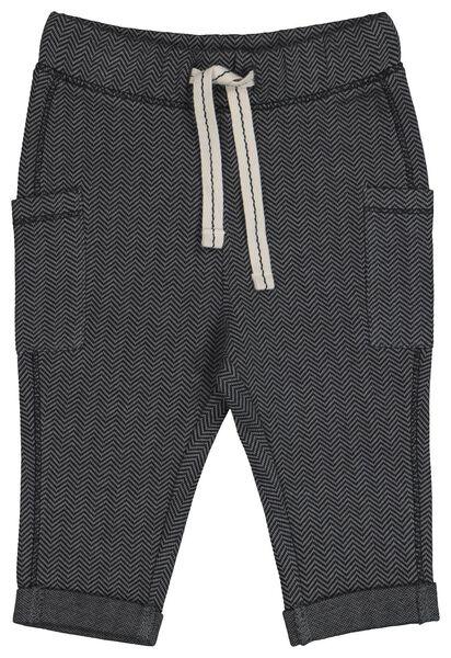 baby sweatbroek grijs grijs - 1000021550 - HEMA