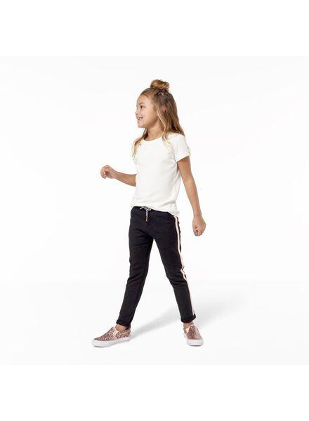 2-pak kinder t-shirts wit wit - 1000011420 - HEMA