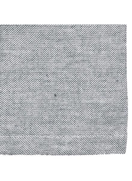 tafellaken - 140 x 240 - katoen - grijs - 5303782 - HEMA