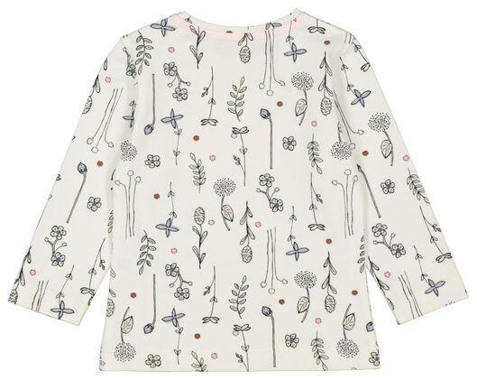 baby t-shirt love grows gebroken wit - 1000022191 - HEMA
