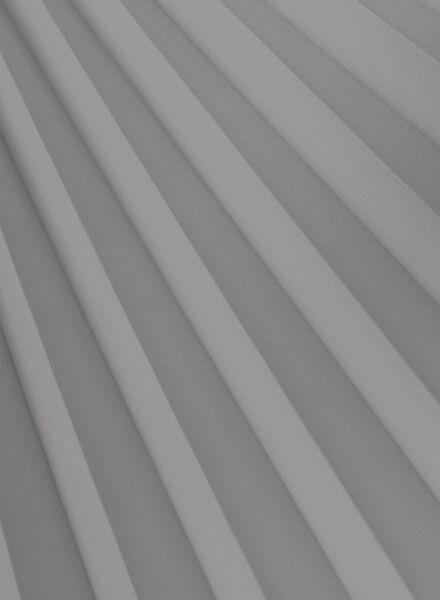 plisségordijn uni vlamvertragend 20 mm - 7430081 - HEMA
