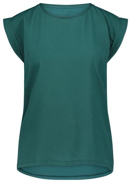 dames top groen groen - 1000022098 - HEMA