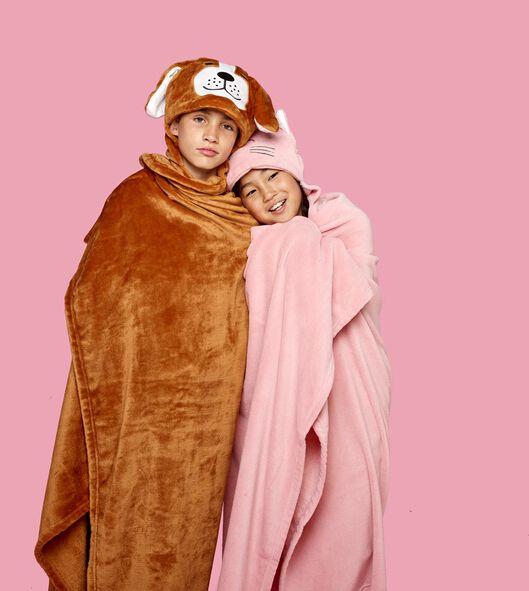 snuggle plaid 130x150 hond - 61120082 - HEMA