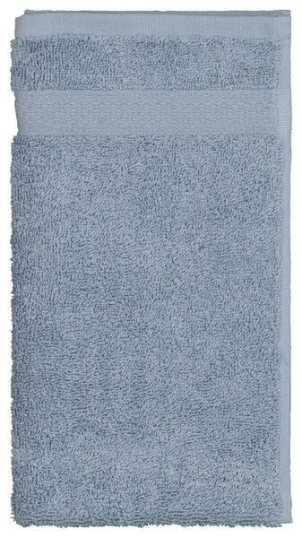 gastendoek - 30 x 55 cm - zware kwaliteit - ijsblauw - 5290071 - HEMA