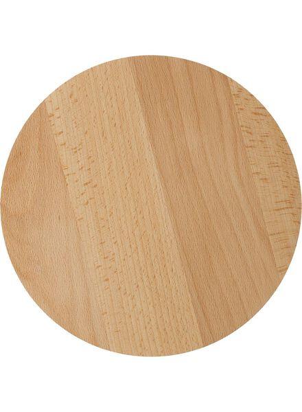 dublin houten deksel 25 cm - 9600092 - HEMA