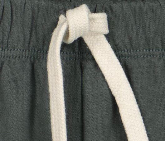 baby sweatbroek groen 56 - 33198232 - HEMA