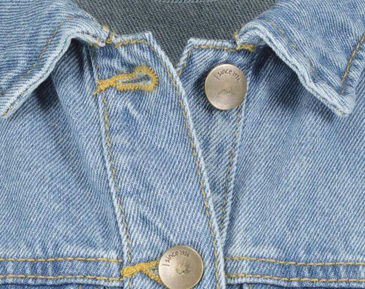 kinder spijkerjasje denim - 1000020533 - HEMA