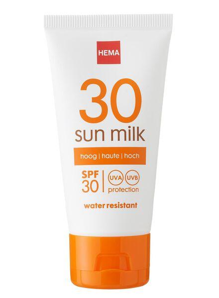zonnemelk SPF 30 mini - 11610115 - HEMA